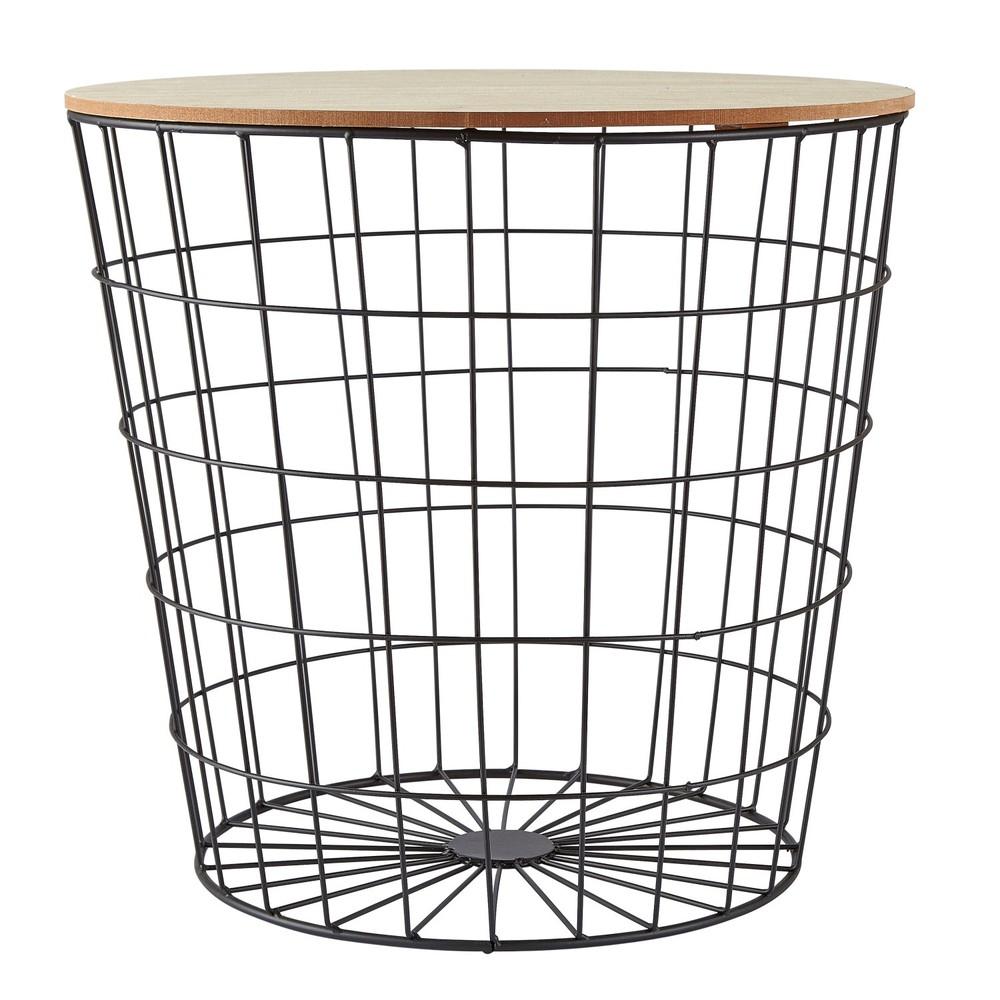 Mriežkovaný odkladací stolík Villa Collection, ∅49cm