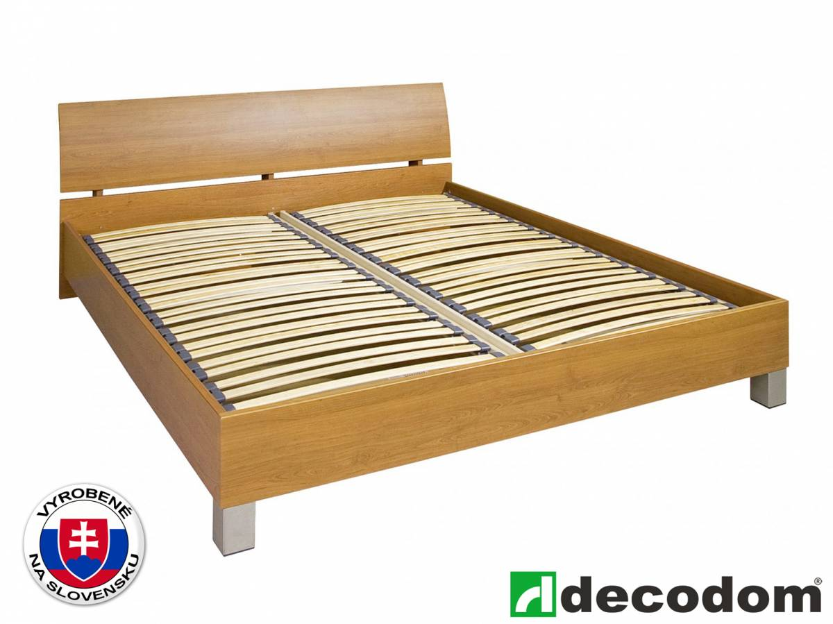 Manželská posteľ 180 cm Decodom Casandra (buk 07) (s roštom a úl. priestorom) *výpredaj