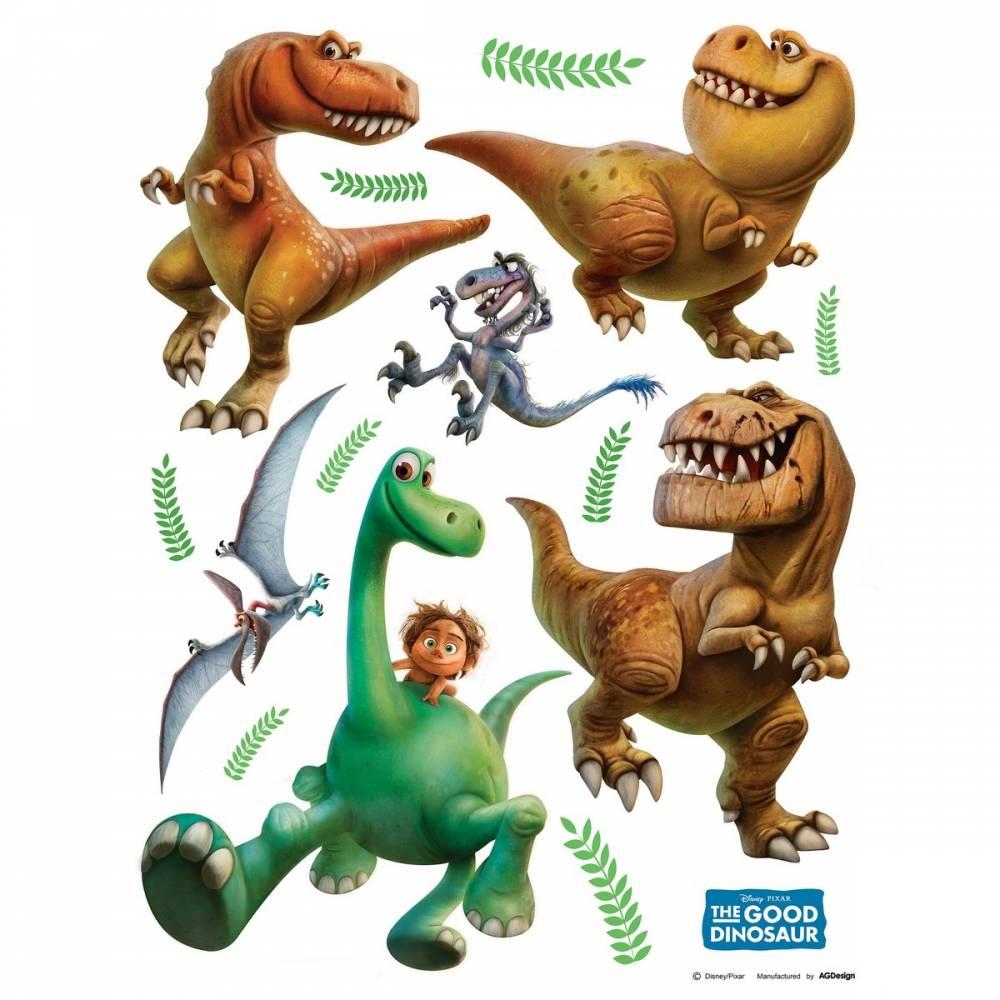 AG Art Samolepiaca dekorácia Dobrý dinosaurus, 30 x 30 cm
