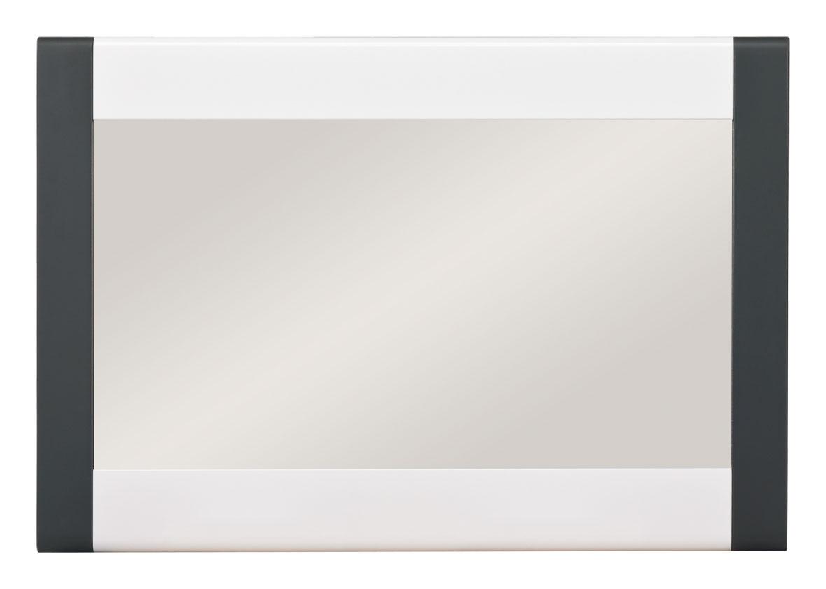 BOG-FRAN NAOMI NA 10 zrkadlo - dub sonoma / biela / grafit