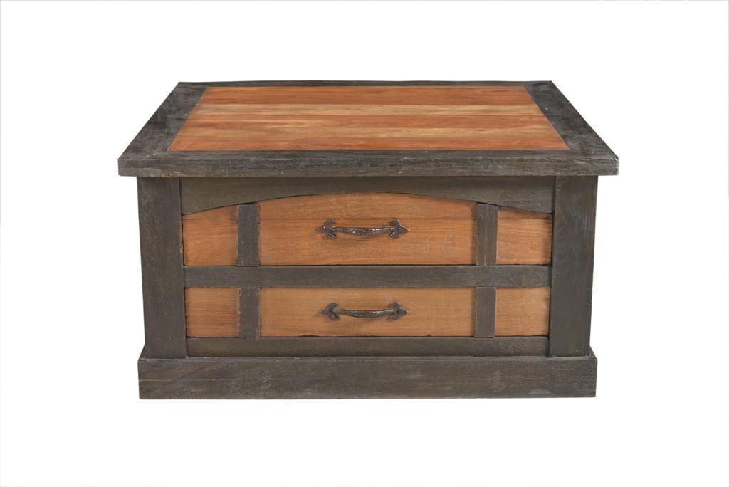 Konferenčný stolík FURTEZZ 90 cm - hnedá