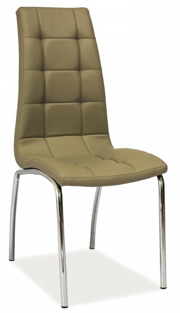 Jedálenská stolička HK-104, tmavobéžová