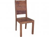 Furniture nábytok  Masívna stolička  z Palisanderu  Mahí  45x45x100 cm