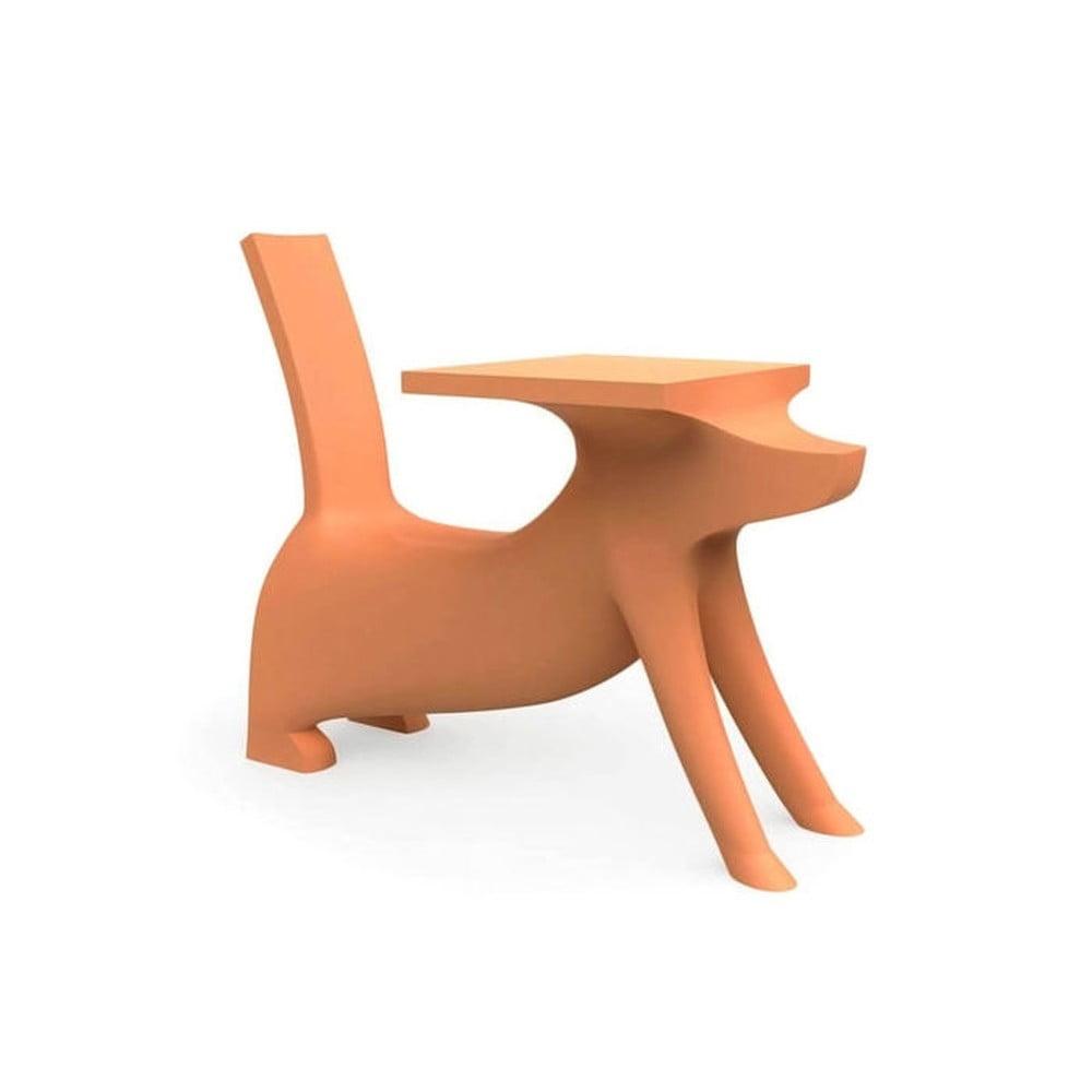 Oranžová detská stolička Magis Le Chien