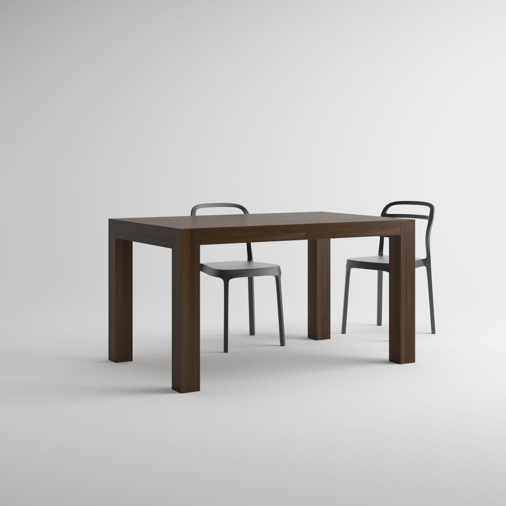 Rozkladací jedálenský stôl v dekore orecha MobiliFiver Iacopo, dĺžka140-220cm