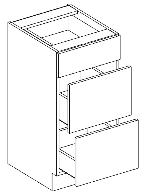 FRED dolná skrinka D45S3-PL