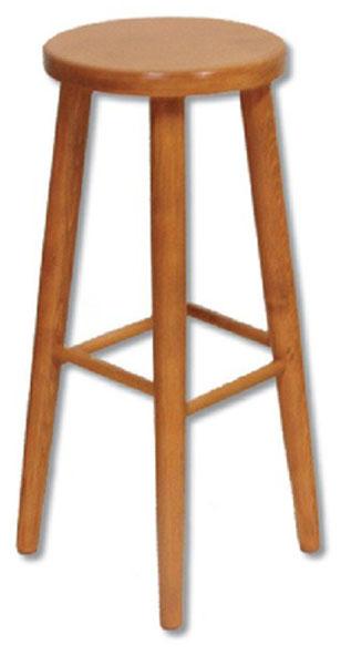 KT241 Barová stolička, výška 70 cm