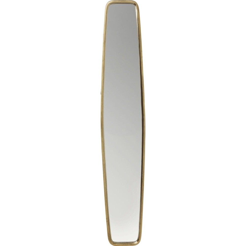 Zrkadlo s mosadzným rámom Kare Design Clip