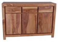 Furniture nábytok  Masívna Komoda z Palisanderu  Rezá  130x45x90 cm