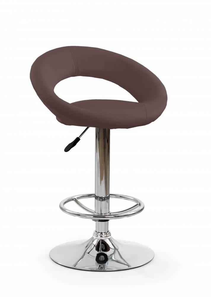 Barová stolička H-15 (hnedá)
