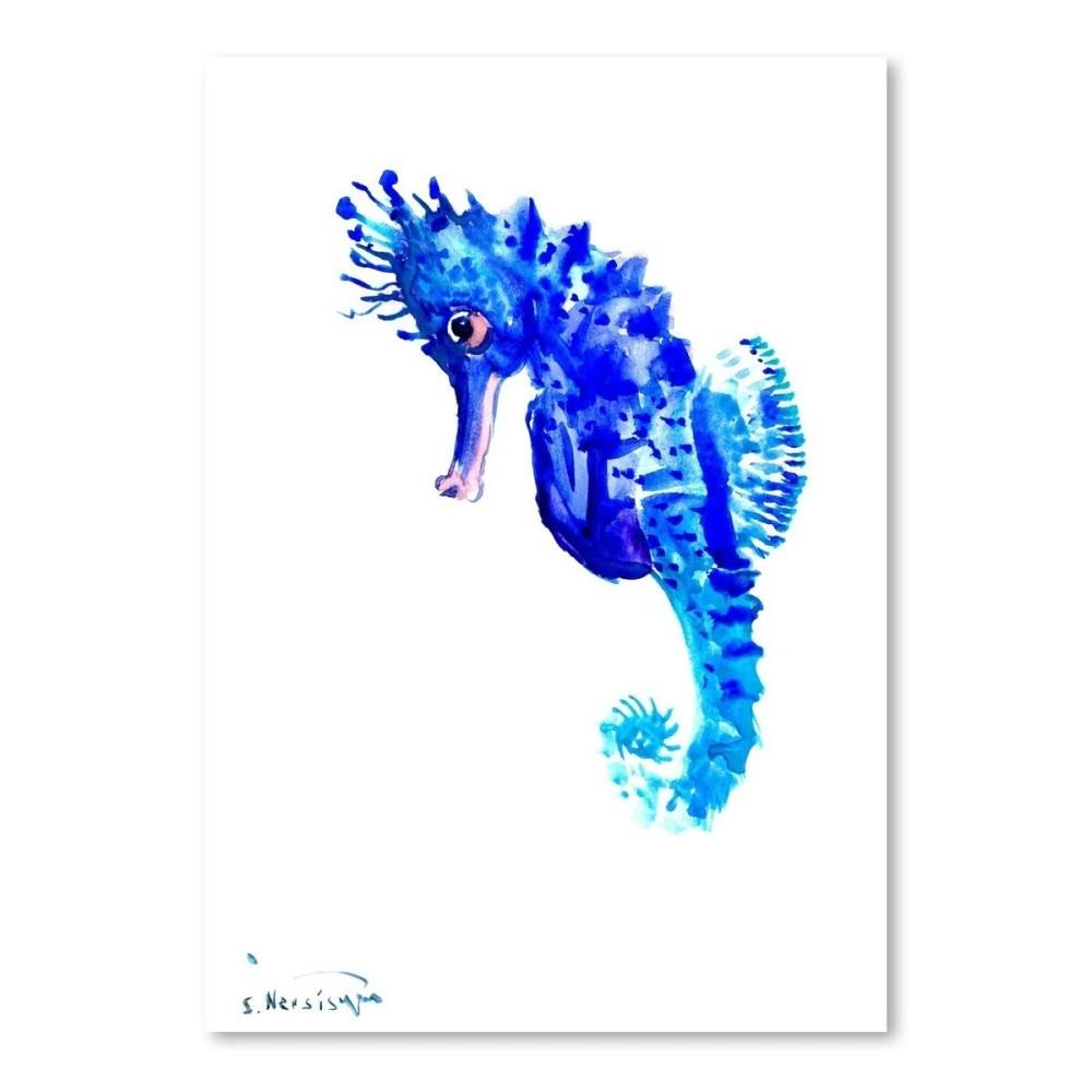 Autorský plagát Seahorse od Surena Nersisyana, 30 x 21 cm