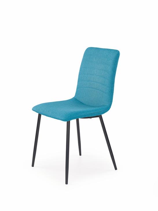 Jedálenská stolička K251 (tyrkysová)