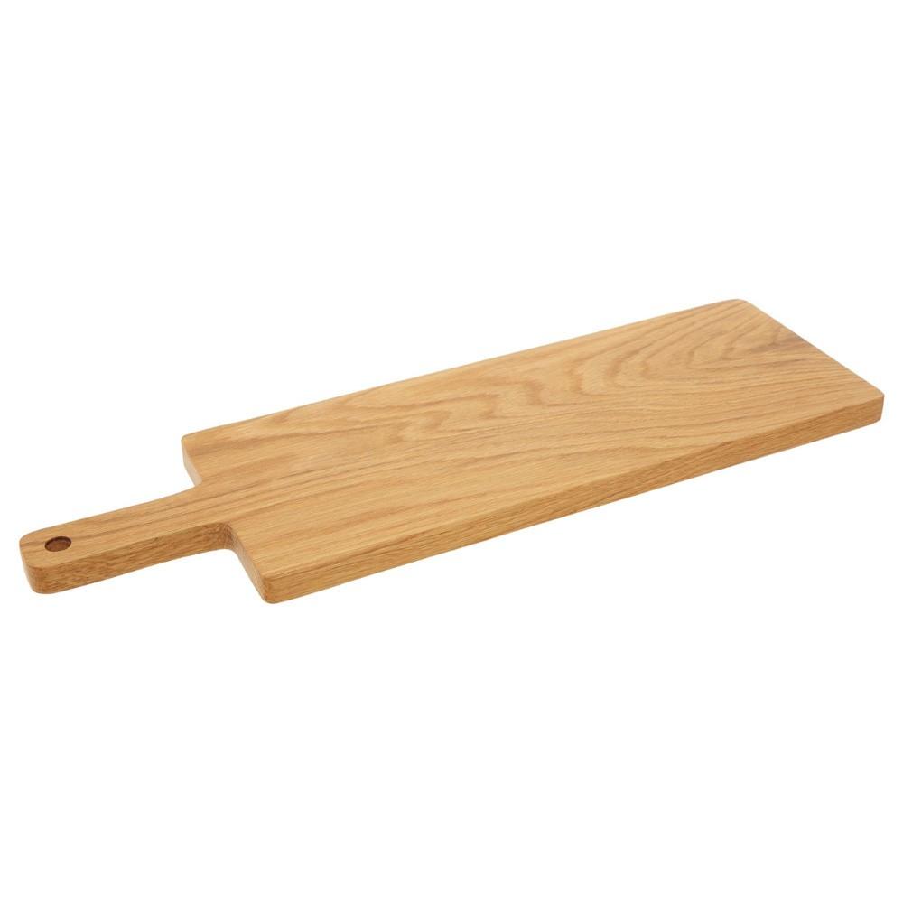 Doštička na krájanie z dubového dreva Premier Housewares, 17×55 cm