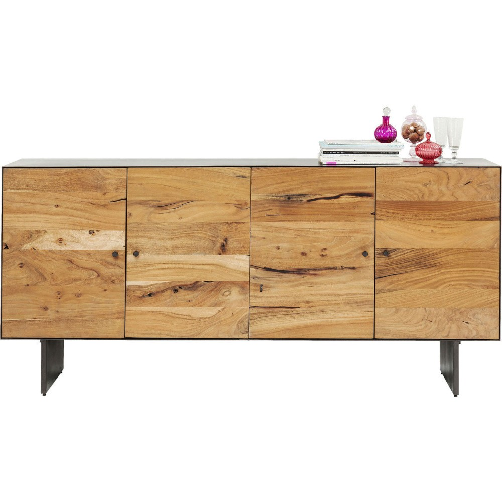 Komoda z akáciového dreva Kare Design Pure