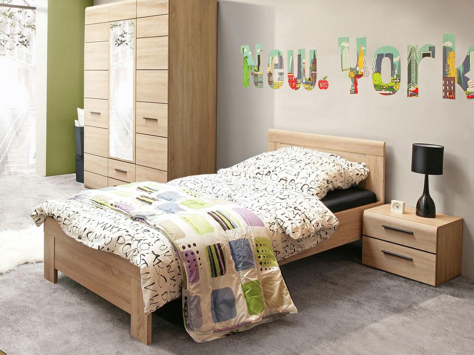 Jednolôžková posteľ 90 cm Kombino CMBL09