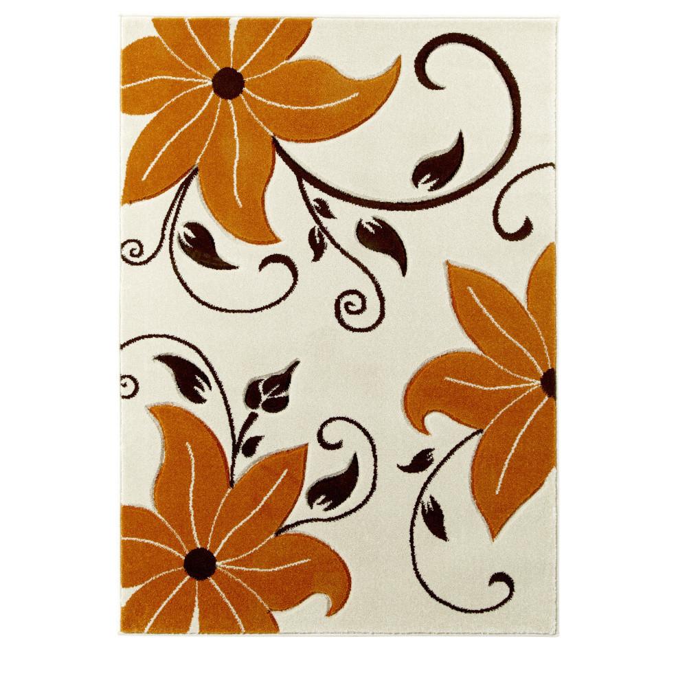 Béžovo-oranžový koberec Think Rugs Verona, 60x120 cm