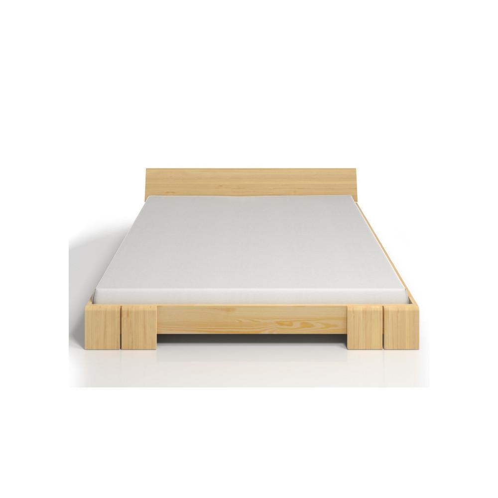 Dvojlôžková posteľ z borovicového dreva SKANDICA Vestre, 200x200cm