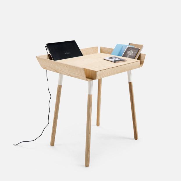 Prírodný písací stôl Emko My Writing,1zásuvka
