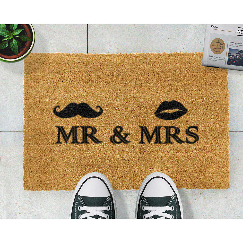 Rohožka Artsy Doormats Mr and Mrs, 40 x 60 cm