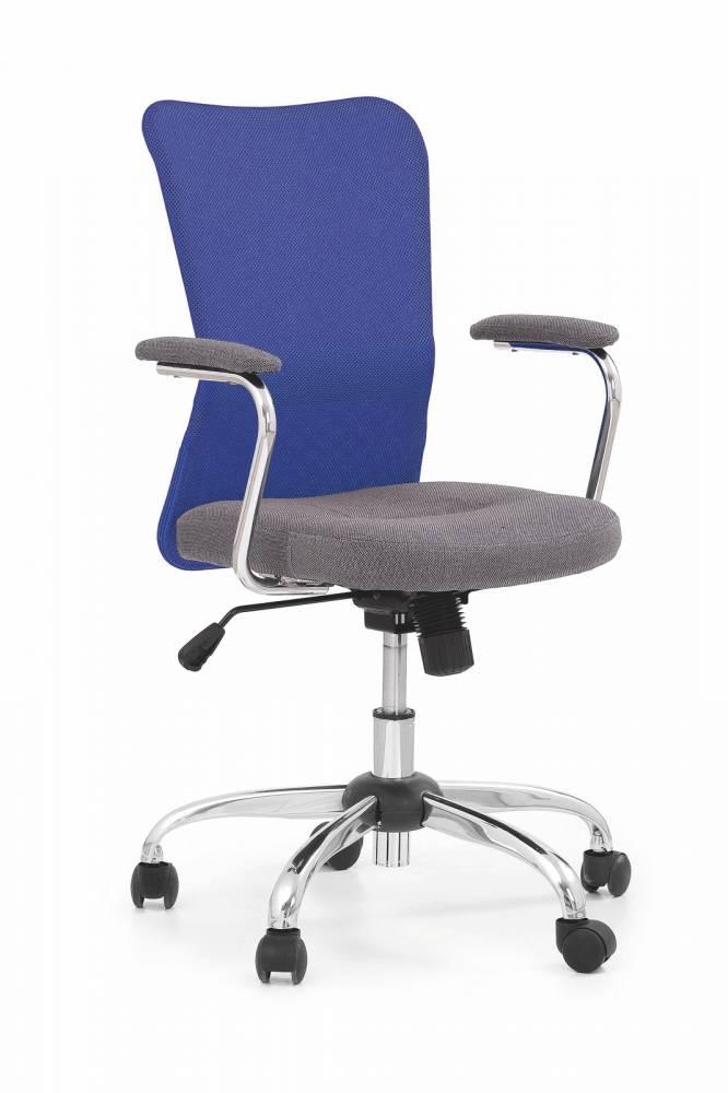Kancelárska stolička Andy modrá