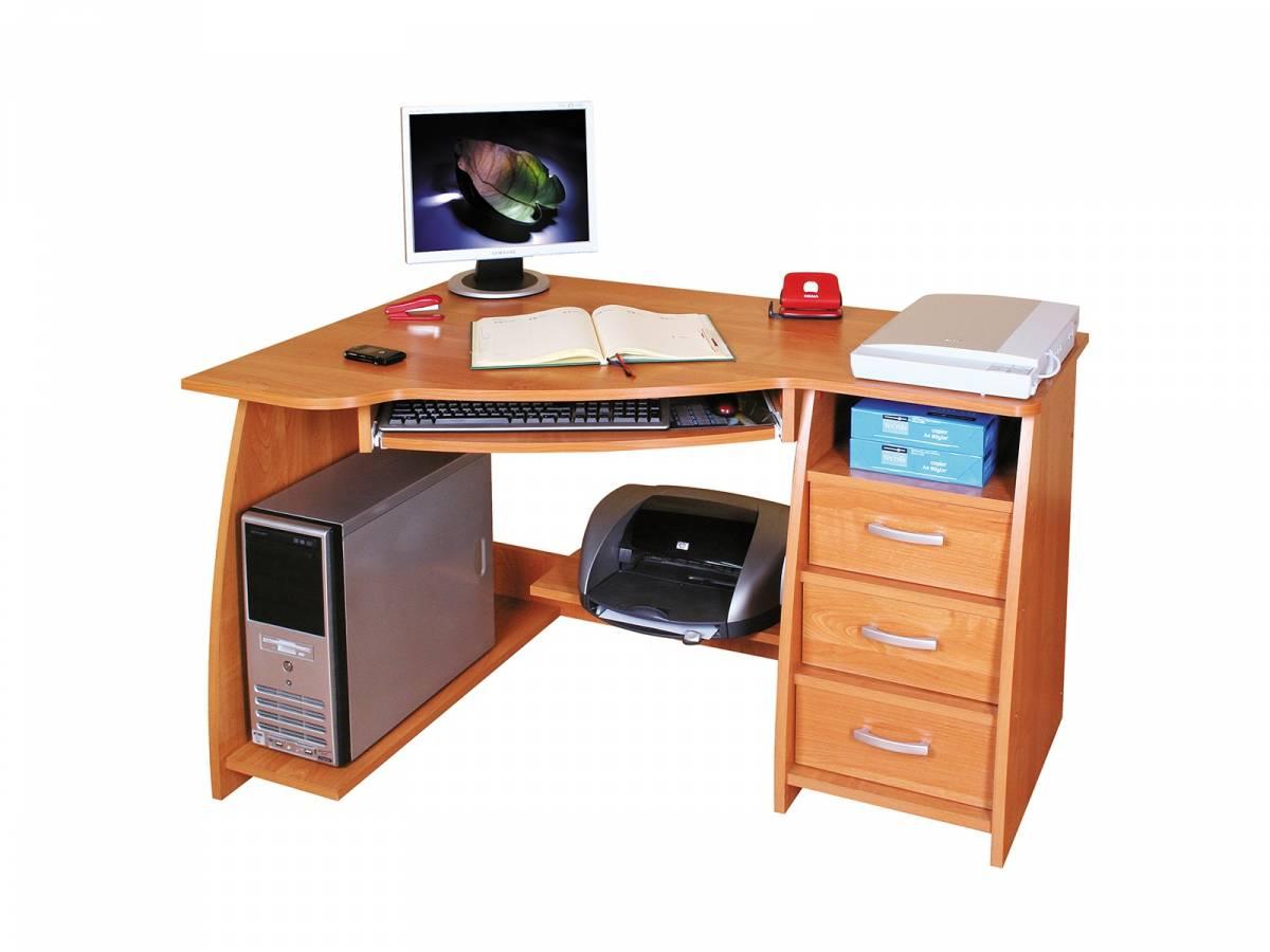 Rohový PC stolík Jocker L / P