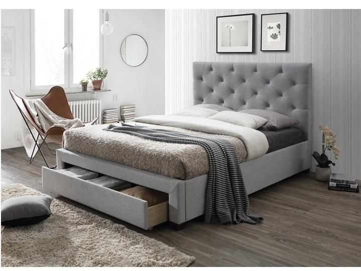 Manželská posteľ 160 cm Santola (s roštom a úl. priestorom)