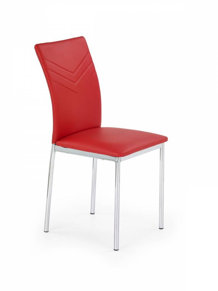 Jedálenská stolička K137 červená