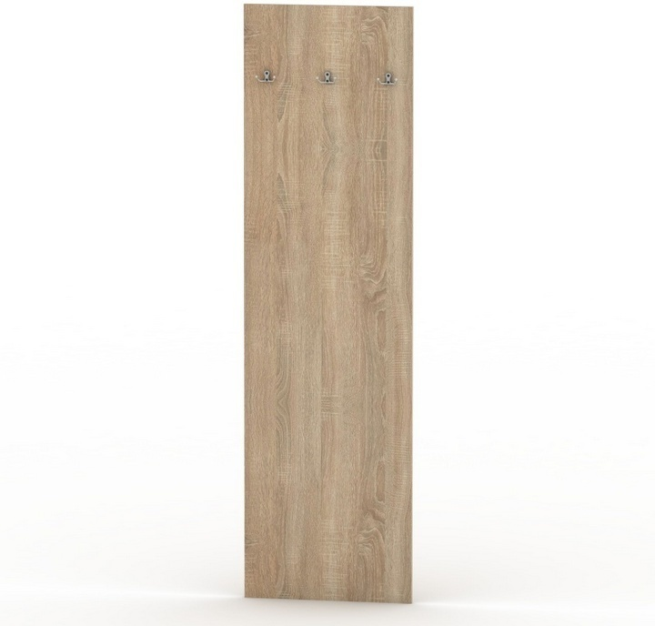 TEMPO KONDELA TEMPO ASISTENT NEW 030 vešiakový panel - dub sonoma