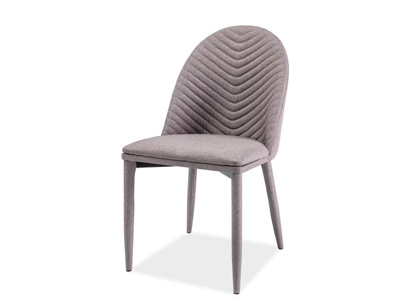 LUCILE jedálenská stolička, šedá