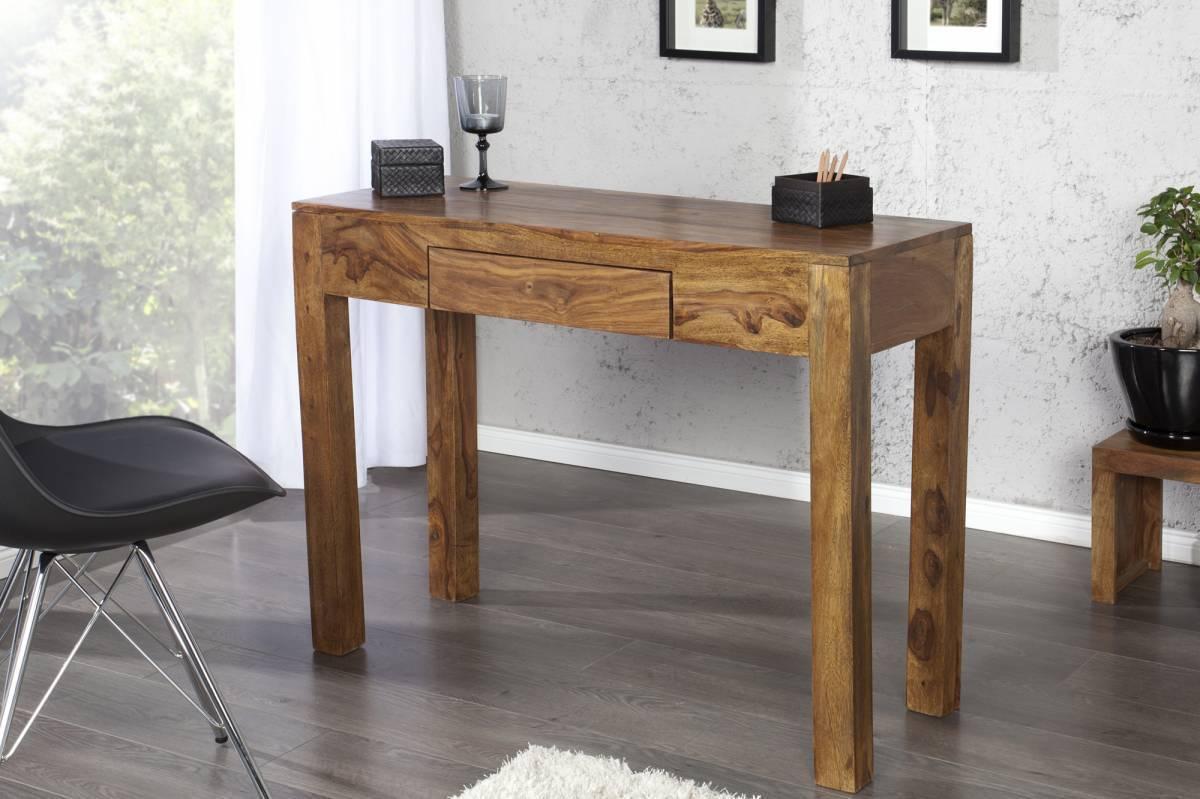 Písací stôl MAKASSAR 100 cm - prírodná