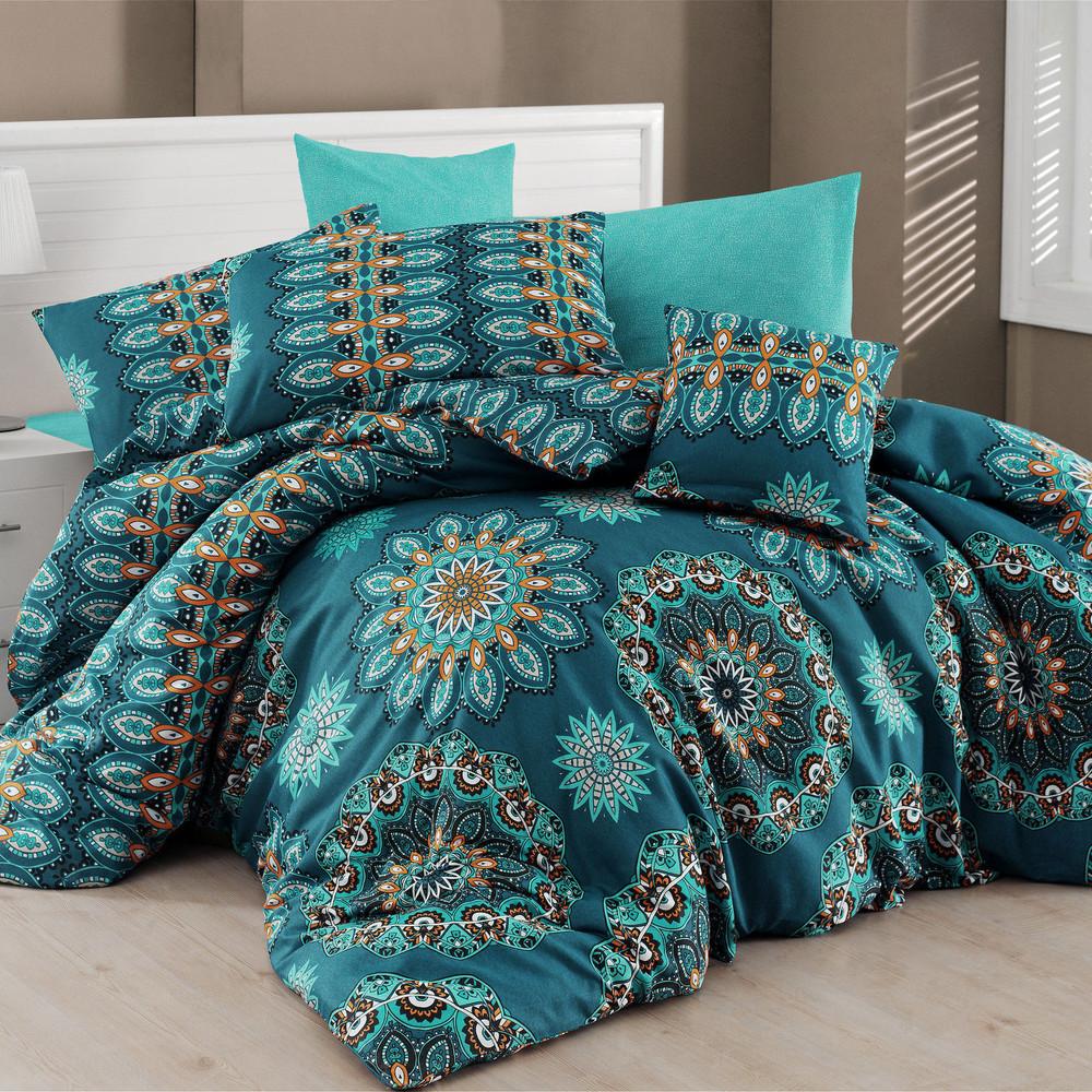 Obliečky s plachtou Hula Turquoise,200x220cm