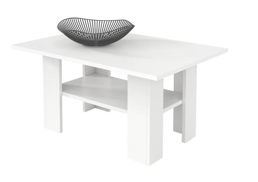 Konferenčný stolík AGATA H43, biely