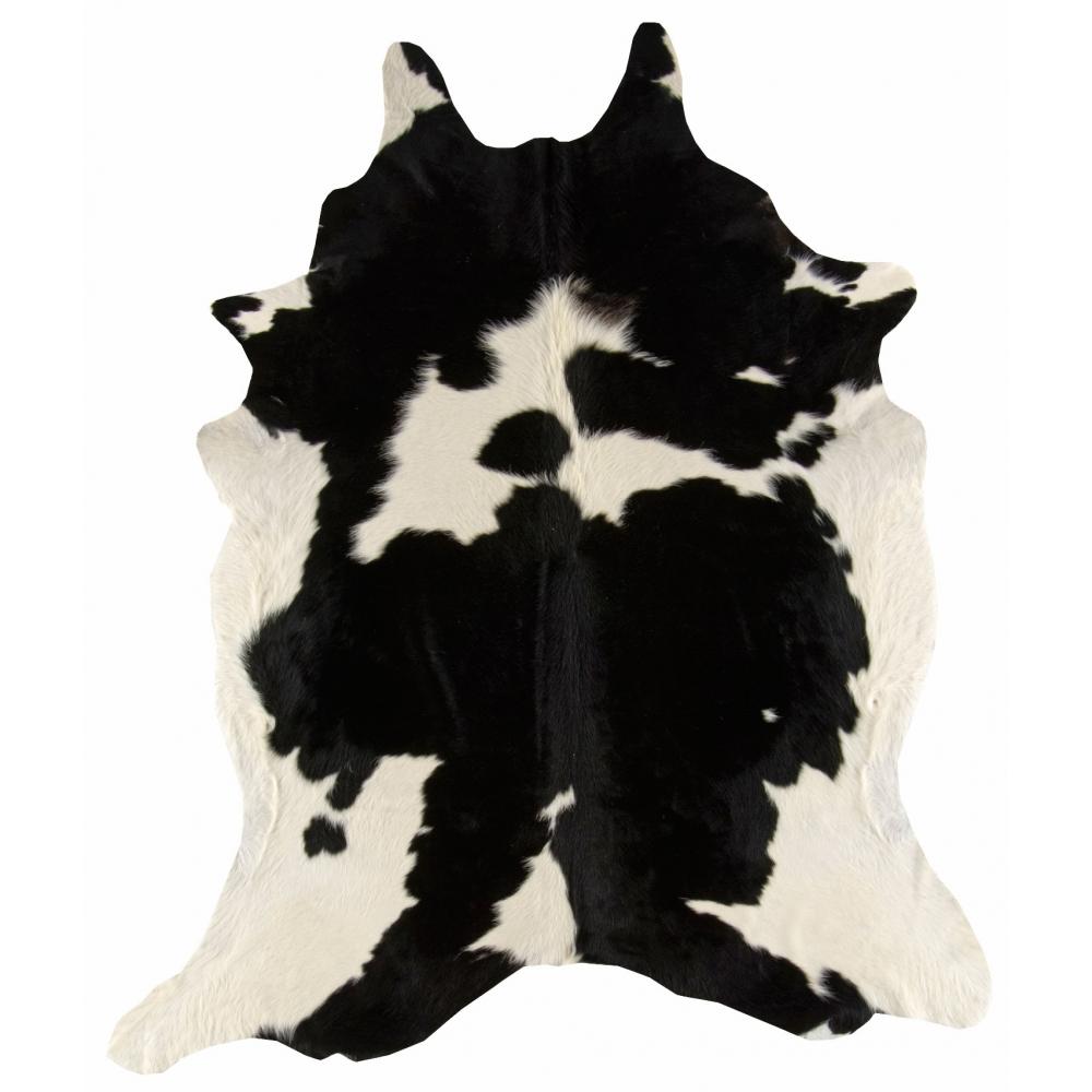 RODEO COWHIDE - čierna/biela