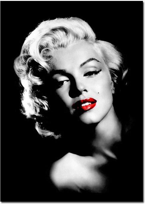 Obraz, s motívom Marilyn Monroe, 40x60 cm