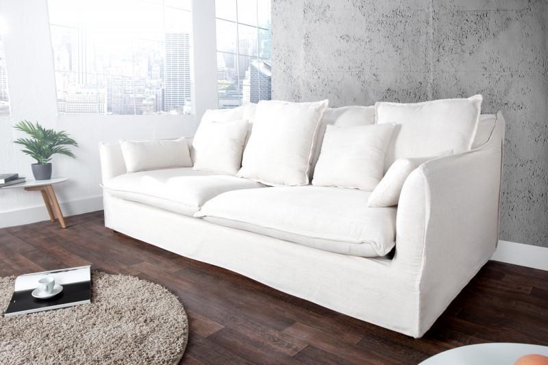3-sedačka HAEVEN - biela