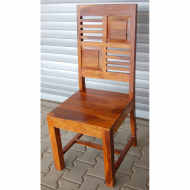 Furniture nábytok  Masívna stolička z Palisanderu  Pejkán  45x45x105 cm