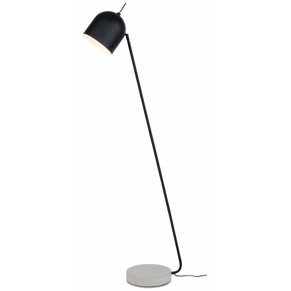 Čierna stojacia lampa Citylights Madrid