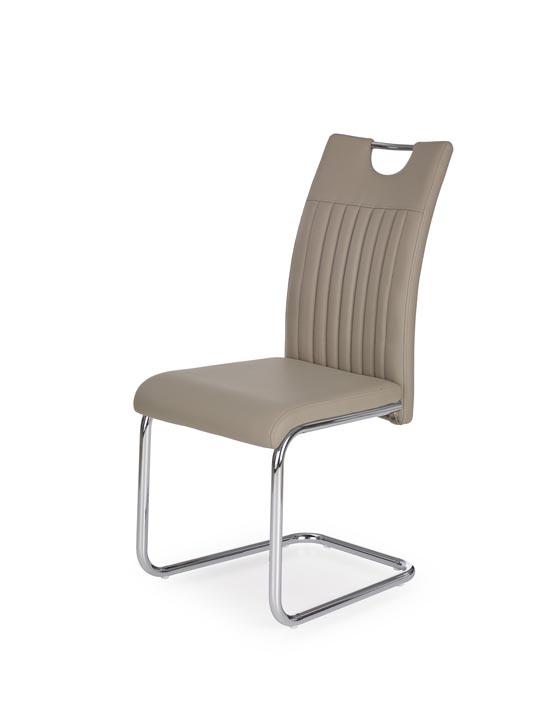 Jedálenská stolička K258 (cappuccino)