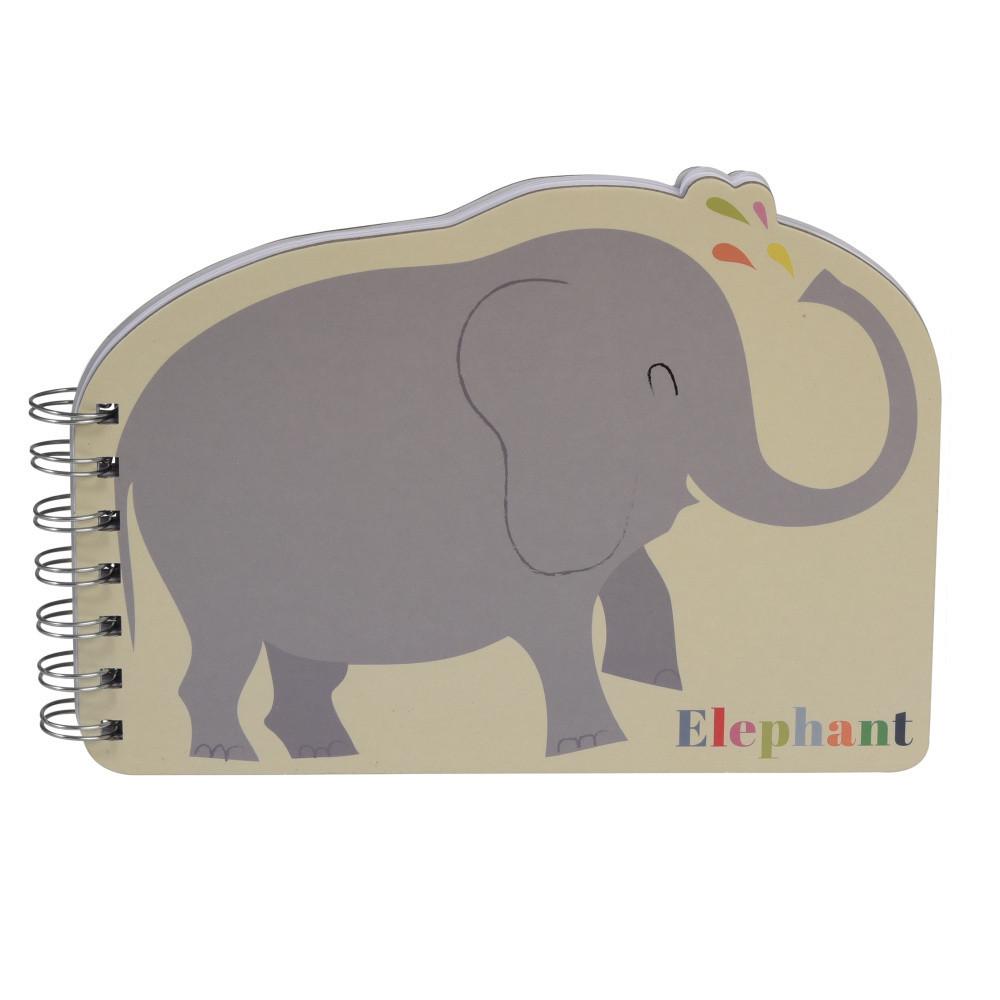 Zápisník slon Rex London Animals