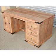 Písací stôl z masívu