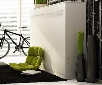 Sklápacia posteľ Concept PRO CP-01 / 140x200   Farba: Biela