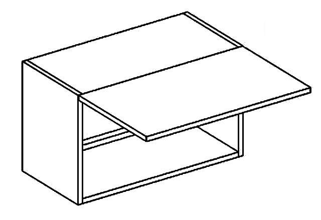 BIANCA horná výklopná skrinka W60OKGR