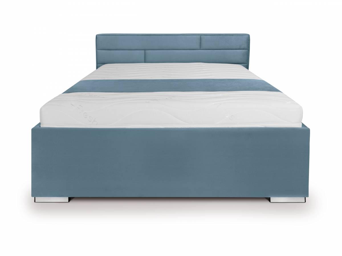 Manželská posteľ 140 cm Kate Futon (tyrkysová)