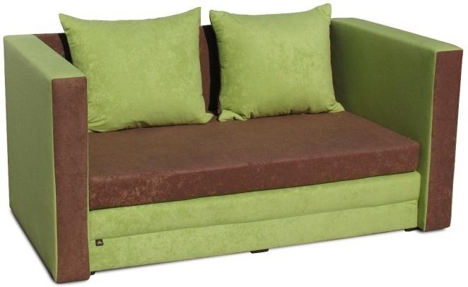 Rozkladacia pohovka, zelená, KATARINA NEW