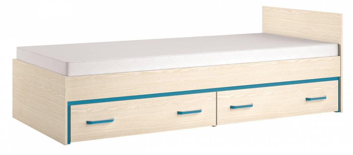 Jednolôžková posteľ 90 cm Bonti 15 (s roštom a úl. priestorom) *výpredaj