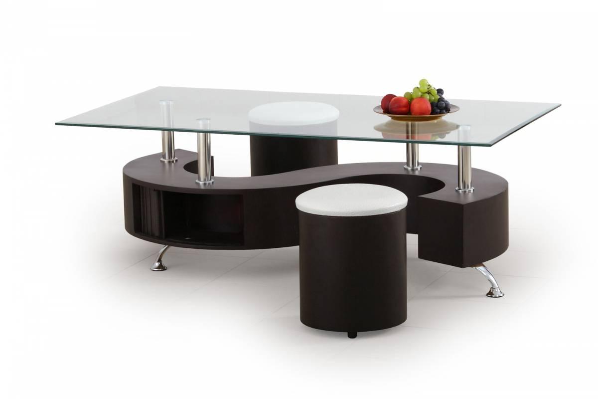 Konferenčný stolík Nina Wenge (s taburetkami)
