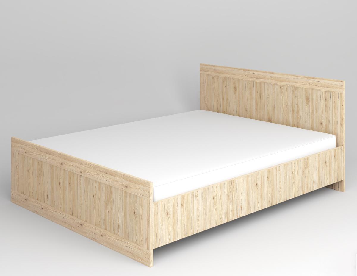ML MEBLE MODERN 16 160 posteľ - dub San Remo