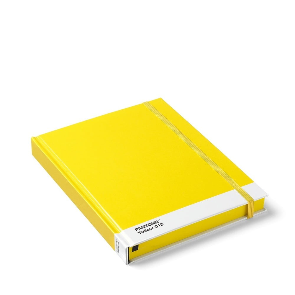 Žltý zápisník Pantone