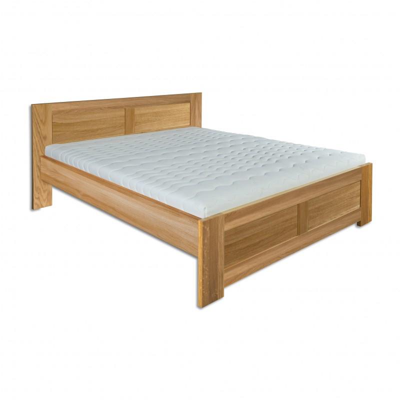 Manželská posteľ 160 cm LK 212 (dub) (masív)