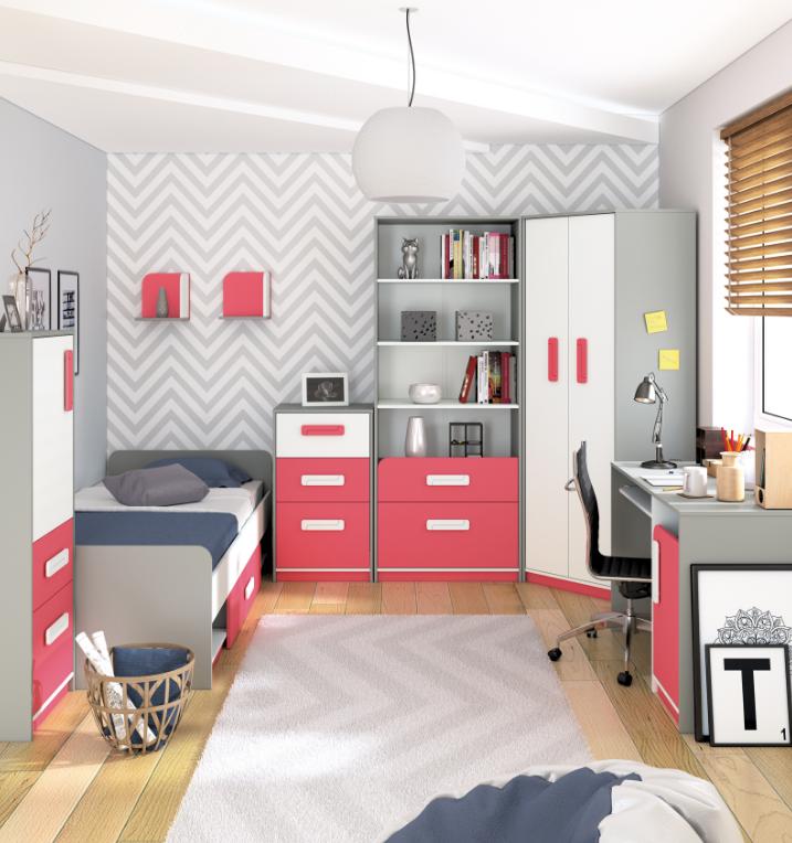 Detská izba IQ   Farba: malinová